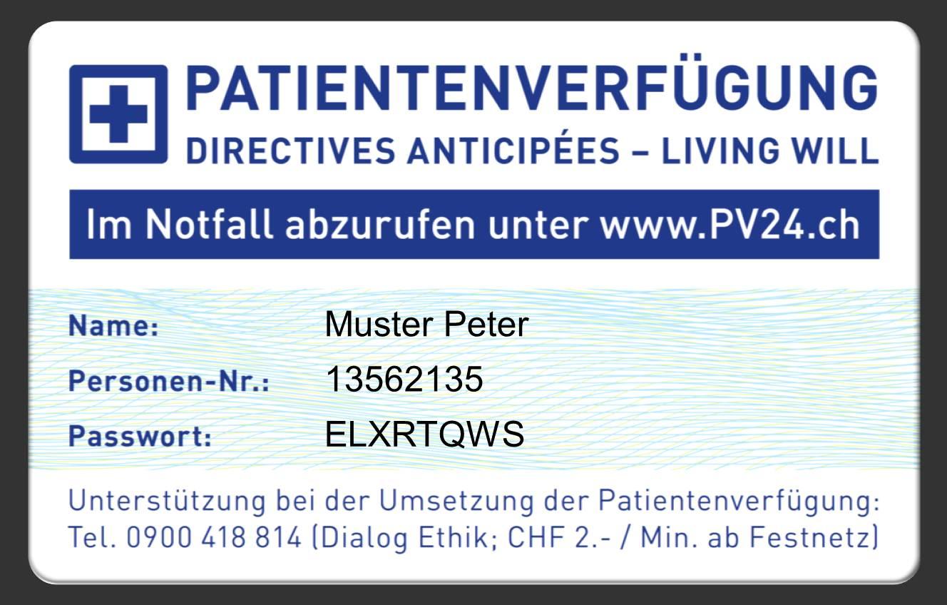 bestimmen sie selbst mit einer patientenverfgung - Patientenverfugung Muster